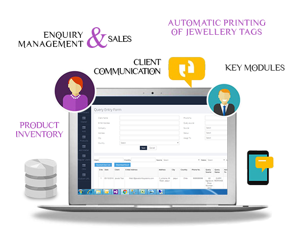 Jewellery CRM Software